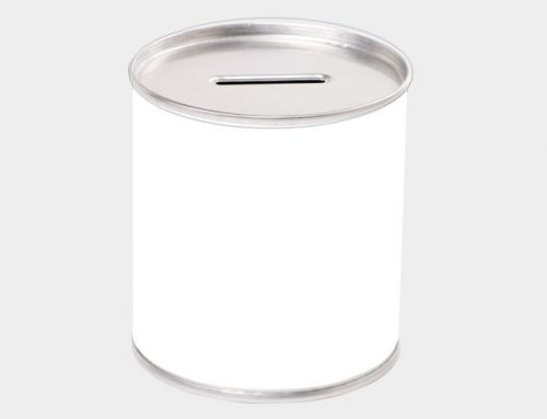 Small Branded Money Tin