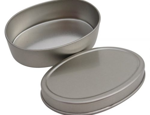 Co4 Mini Oval Canister 84x57x25mm (Sliver)