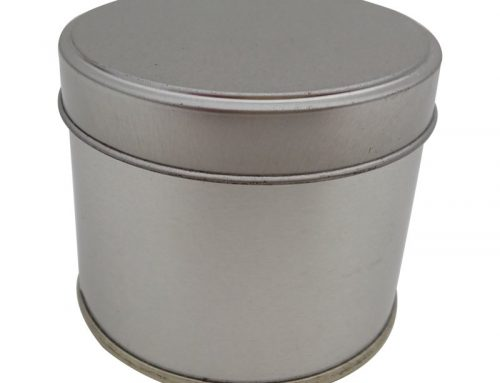 Cr10A Round Tin Box 74x60mm