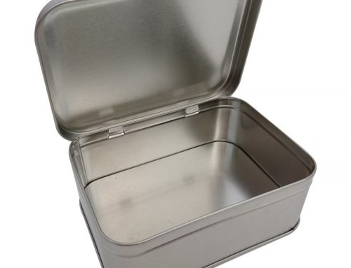 CR21 Rectangular Tin Box 139x100x50mm