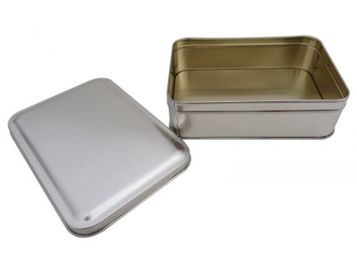CR21-A Rectangular Tin Box 165x113x50mm