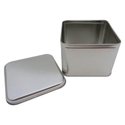 Cr25-B 133x133x100-Custom Square Tin Box