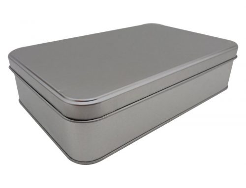 CR27 Rectangular Tin Box 214x141x50mm