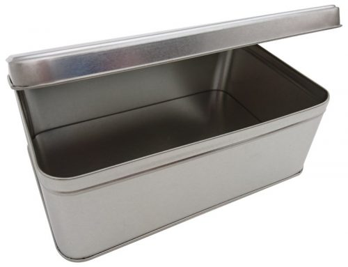 CR28 Rectangular Tin Box 214x141x75mm