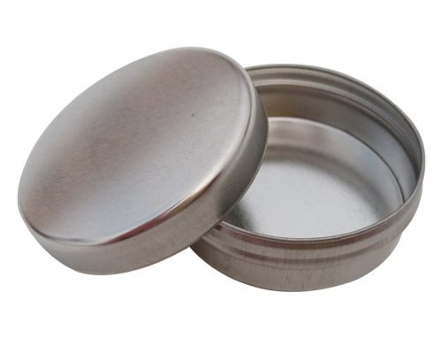 Cr4 Round Metal Balm Tin (56 gram)