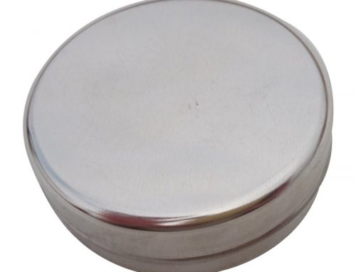 Cr5 Round Metal Cosmetic Tin (60 gram)