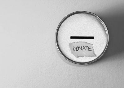 Charity Donation Tins
