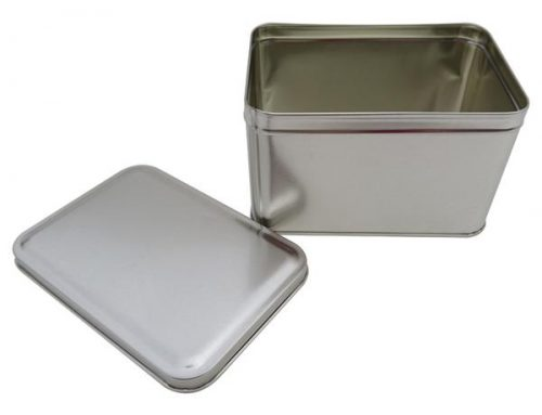 CR21-B Rectangular Tin Box 165x113x100mm