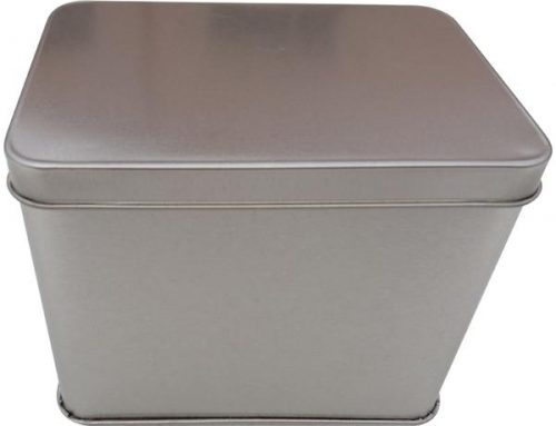 CR22 Rectangular Tin Box 125x90x100mm