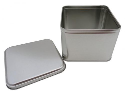 CR25 Square Tin Box 133x133x50mm