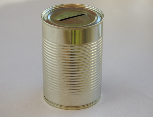 Medium Unbranded Money Tin (Plain)