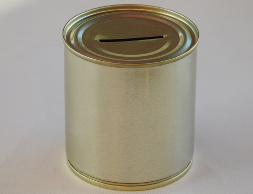 Small Unbranded Money Tin (Plain)