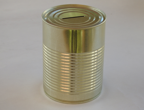 Large Unbranded Money Tin (Plain)
