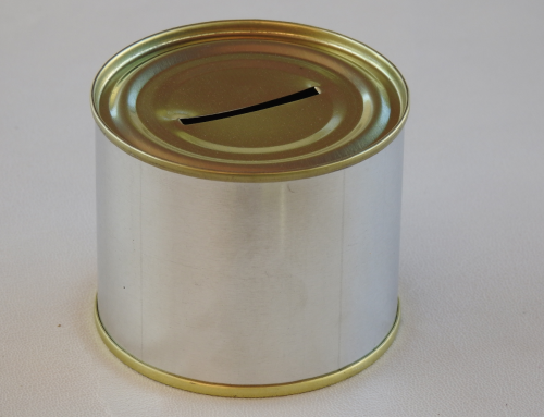 Mini Unbranded Money Tin (Plain)