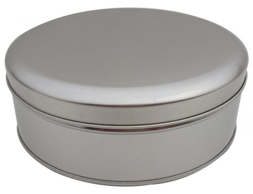 Cr13 Round Biscuit Tin 179x60mm