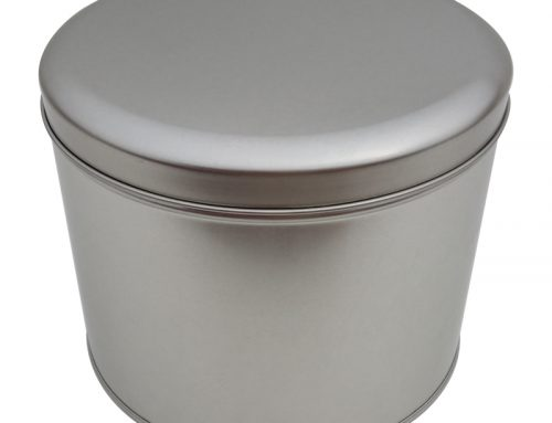 Cr13-A Round Tin Box 179x140mm