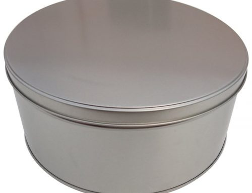 CR15 Round Metal Cake Tin 228x100mm
