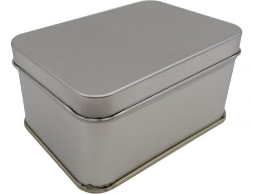 Cr16 Rectangular Tin Box 100x71x50mm