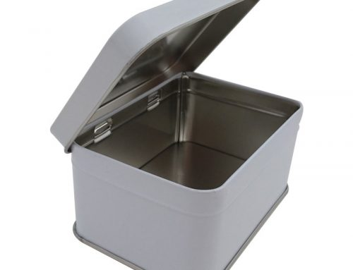Cr16W Rectangular Tin Box 100x71x50mm