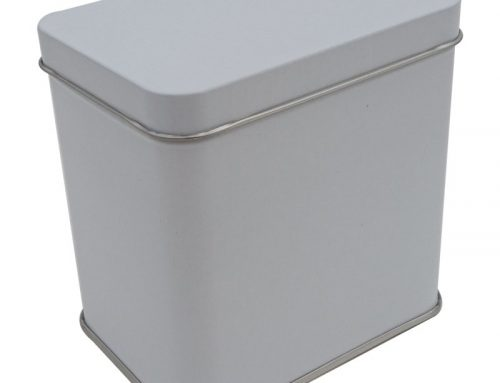 Cr17A Rectangular Tin Box 100x71x100