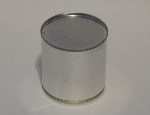 A3 Round Tin Can 73x80mm