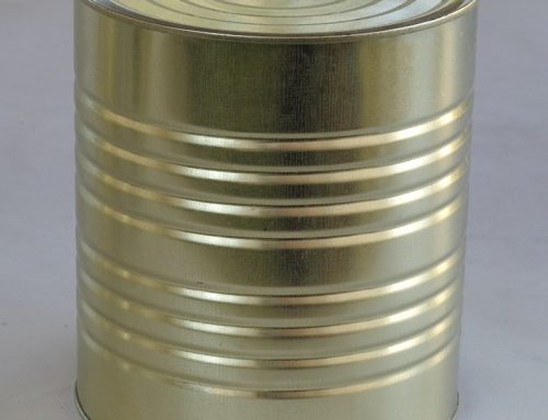 A10 Round Tin Can 153x178mm