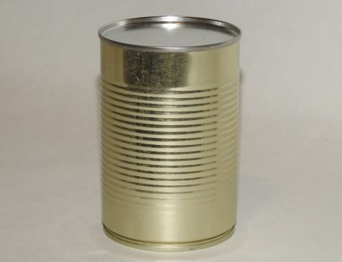 A2 Round Tin Can 73x111mm