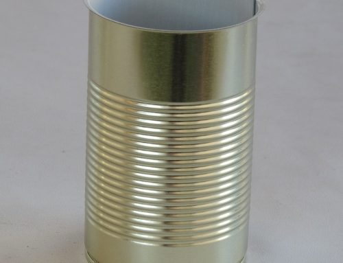 A2L Round Tin Can 73x125mm