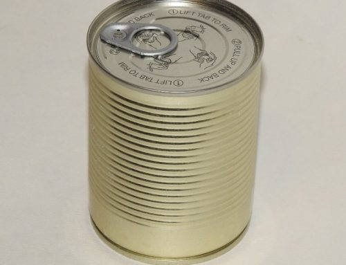 A4 Round Tin Can 73x97mm