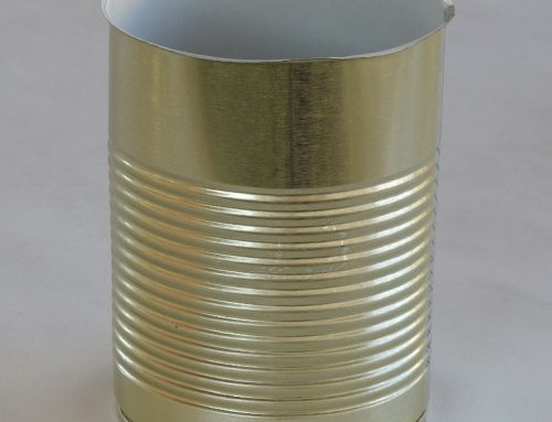 A6L Round Tin Can 99x130mm