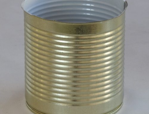 A6S Round Tin Can 99x114mm
