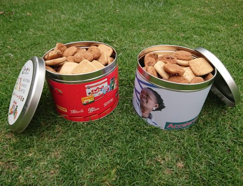 Cookie Tins South Africa The way to your client's heart is through his stomach!