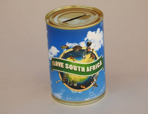 Tin Piggy Banks South Africa We've been helping charities for over 25 years!