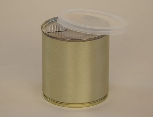 Small Custom Tin Can